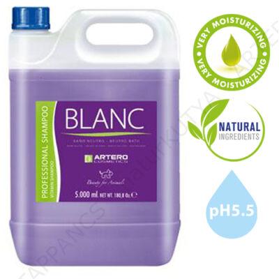 BLANC KUTYA SAMPON, színerősítő – ARTERO (5 liter)