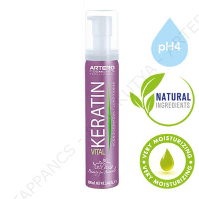 KERATIN VITAL – kondícionáló, balzsam, zselé (100 ml)