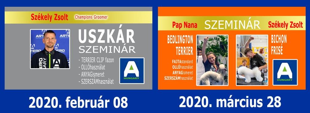 SZEMINÁROK 2020