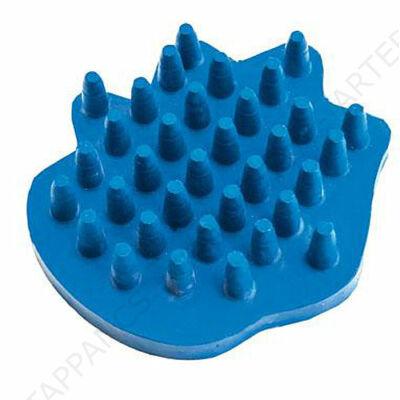 SAMPONOZÓ, fürdető gumi kefe (kék, ritka fogú) - ARTERO